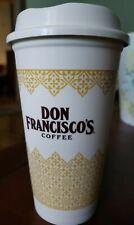 NEW Don Francisco's Coffee 16 Oz. Reusable Travel Mug Cup