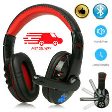 Wireless Bluetooth Gaming Headset w/ Mic Headphones For PC Laptop