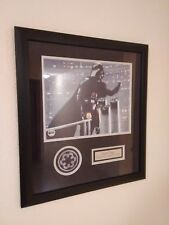 Framed Dual Signed Darth Vader 11x14 Autograph James Earl Jones and David Prowse