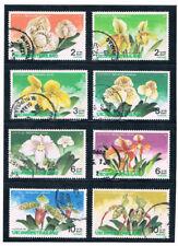THAILAND 1992 Orchid Flowers (Flora) FU CV $ 2.80