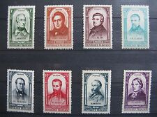 FRANCE neufs n° 795 à 802  CELEBRITES DE LA REVOLUTION DE 1848 (1948)