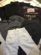 LOT GARCON 14 16 ANS JEAN DIESEL BLANC POLO FRED PERRY PEPE JEANS G STAR