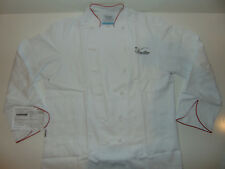 Mens Chef Jacket White Knotbuttons Cooking VANCE HOUSE MADE IN USA Culinary NEW