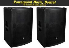 """Mackie S512 12"""" 2-way 500 Watt PA speaker PAIR! Total RRP $1598"""