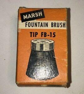 VTG Marsh Fountain Brush Tip FB-15