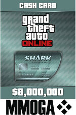 Grand theft auto Cashcard megalodon shark - 8000k $$pc ONLINE code GTA 5