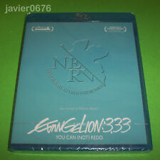 EVANGELION 3.33 YOU CAN (NOT) REDO BLU-RAY NUEVO Y PRECINTADO