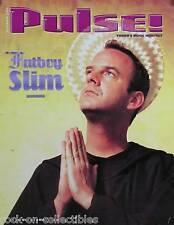 Fatboy Slim 2000 Pulse Magazine Cover Original Promo Poster