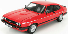 SUPERB NOREV 1/18 Diecast 1983 Ford Capri 2.8i Injection in Red 182708
