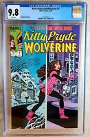 Kitty Pryde and Wolverine #1 1984 CGC 9.8 NM/MT White Pages - Comic N0001
