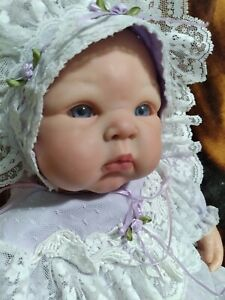 Beautiful reborn Paris baby girl doll by Audrie Stoete 22 inch