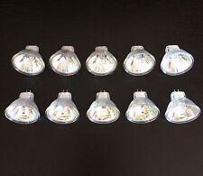 MR11 low voltage landscape halogen light Bulbs 12 volt 35 watt 10/pack 3000 hr
