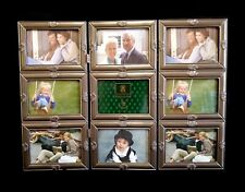 NEW Loui Michel Table Top Memories 3 Panel Screen Picture Frame, Holds 9 3.5 x 5