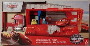 Mack Hauler Transporter-Truck-Disney Pixar FXM85 Fireball Beach Racers
