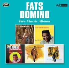 FATS DOMINO - FIVE CLASSIC ALBUMS  2 CD NEUF