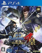 Used PS4 Sengoku Basara 4 sumeragi Japan Import Free Shipping F/S