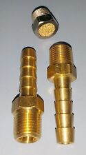 MAC Brass Hose Barb Fitting Kit + Filter for 3-Port Solenoid Actuators Boost