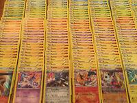 60 Pokemon Cards Bulk Lot - 6 Rares & Rev Holos! Amazing Gift! Genuine!