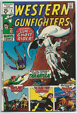 WESTERN GUNFIGHTERS #2 Oct 1970 VF/NM 9.0 OW MARVEL GHOST RIDER TRIMPE Cover B/O