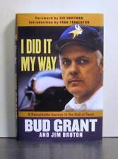 I Did It My Way, Bud Grant, Minnesota Vikings, Winnipeg Blue Bombers, Football