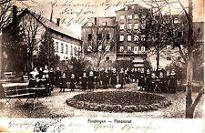 Fénétrange Finstingen CPA 1914 pensionnat animée Lothringen Lorraine 1502240
