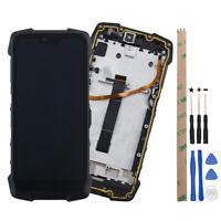 Pantalla completa lcd capacitiva tactil digitalizador para Blackview Bv9700 Pro
