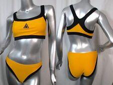 Yellow & Black SPEEDO Bikini Small Swim Suit - Excellent
