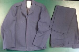 Vintage British RAF General Purpose Uniform, Jacket And Trousers.1972 Pattern