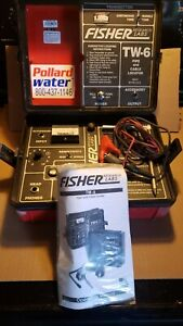 Fisher TW-6 M-Scope Pipe & Cable Locator Transmitter & Receiver 2415
