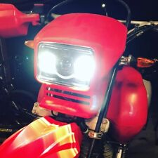Black LED Headlight Kit for Honda XR650L - Plug & Play Turnkey - JNS Engineering