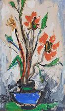 Pierre PERESS (1919-1990) HsP Bouquet Années 60 / Fauvist / Fauvism / Fauviste