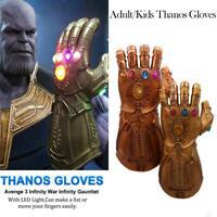 Figurine Articulée Avec Gants Thanos Light De Avengers 4 Endgame Gauntlet LED