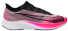Nike Zoom Fly 3 VaporWeave Running Shoes Pink/Gray [Men's Size 12.5] AT8240-600