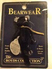 Boyds Bears Bearwear Pin~T.F.Wuzzies~Thomas F Wuzzie~Black Cat~On Card~New Other