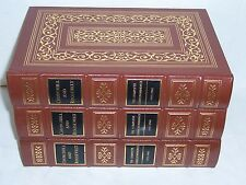 easton press THE COMPLETE CORRESPONDENCE Churchill & Roosevelt in 3 volumes