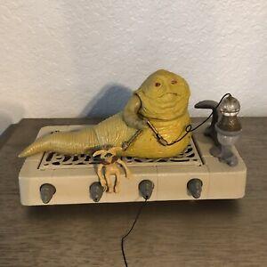 1983 Star Wars Jabba the Hutt Throne Room Playset Vintage