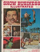 Show Business Illustrated October 17 1961 Dick Gregory Ernie Kovacs Fellini