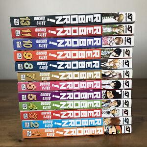 Reborn! manga bundle English Volumes 1,2,3,4,5,6,7,8,9,10,11,13 1-11 & 13