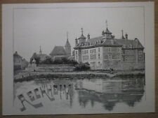 Gravure de presse 1890, Reckheim