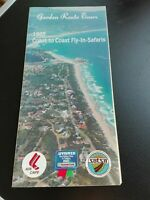 "Flyer: Garden Route Tours 1985 Coast to Coast Fly in Safaris"" in englisch !!!"