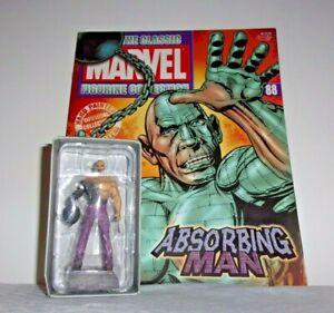 Eaglemoss Lead Classic Marvel Figurine Collection ABSORBING MAN #88 w/Mag MIB