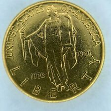 1926 AMERICAN SESQUICENTENNIAL $2.5 GOLD COMMEMORATIVE RARE & COLLECTIBLE COIN