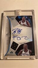 2006-07 UD SP Game Used Kevin Garnett / Dwight Howard Dual Jersey Auto SSP #2/50