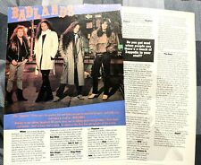 Badlands Jake E Lee Ray Gillen 2 Page Magazine Article / Interview Complete (4)