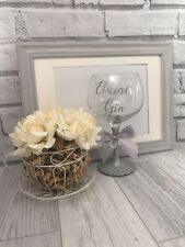 Personalised Gin Glass - Any Name - Birthday 18th 21st 30th 40th 50th