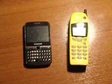 Lote de telefonos vintage para colección Nokia 5110 y Samsung Galaxy Y Pros