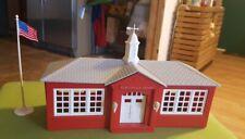 VINTAGE PLASTICVILLE USA SCHOOL HOUSE KIT SC-4 in Original Box
