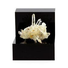 Quartz cristal de roche et Siderite. 89.6 ct. Le Trou des Chasseurs, Vizille