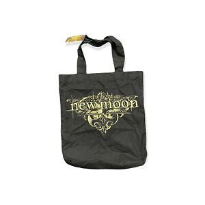 Twilight Saga New Moon Black Tote Bag NWT