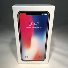 Apple iPhone X 64GB Space Gray Unlocked - NEW & SEALED
